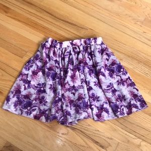 Flowy floral skirt from American Apparel